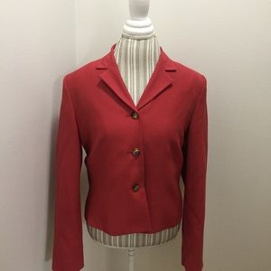 Structured Blazer 3 Button Style By Orvis